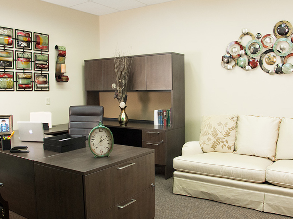 Decorated Office Suite